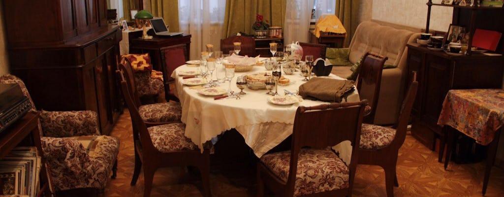 Cours de cuisine et dîner de tarte au bortsch et au chou