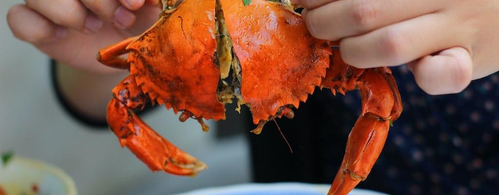 Tour de comida callejera por la tarde en Saigón