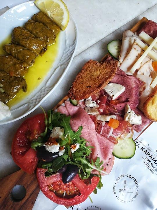 Eet als een Atheense voedselwandeling