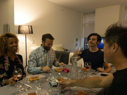 Włoskie aromaty z parowaniem wina i widokiem na San Francisco