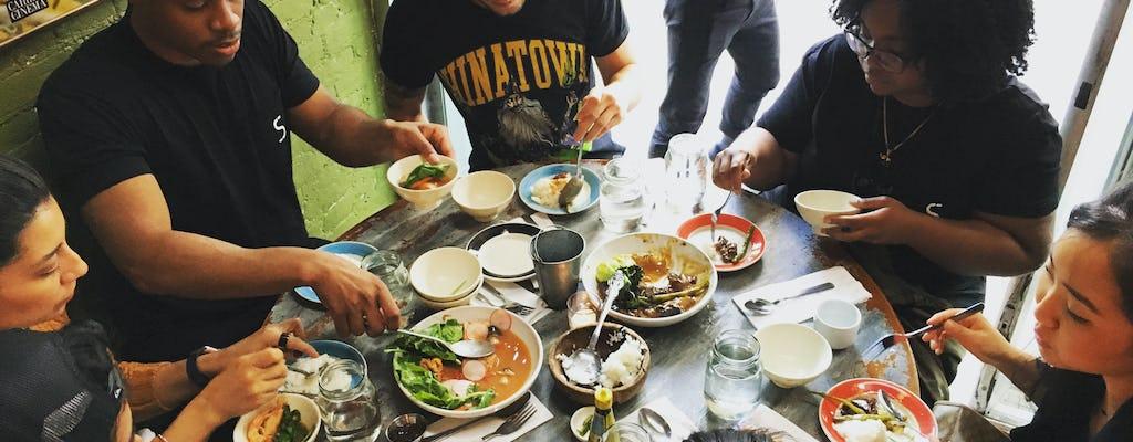 Tour gastronomico filippino e cena nell'East Village