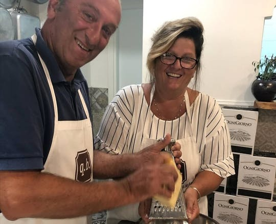 Vegetarian cooking class and dinner in the heart of Sorrento