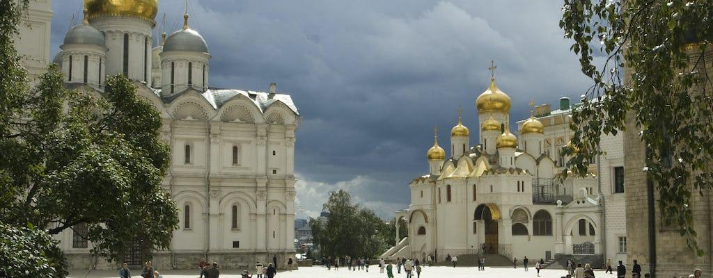 Москва должна увидеть тур с посещение Кремля