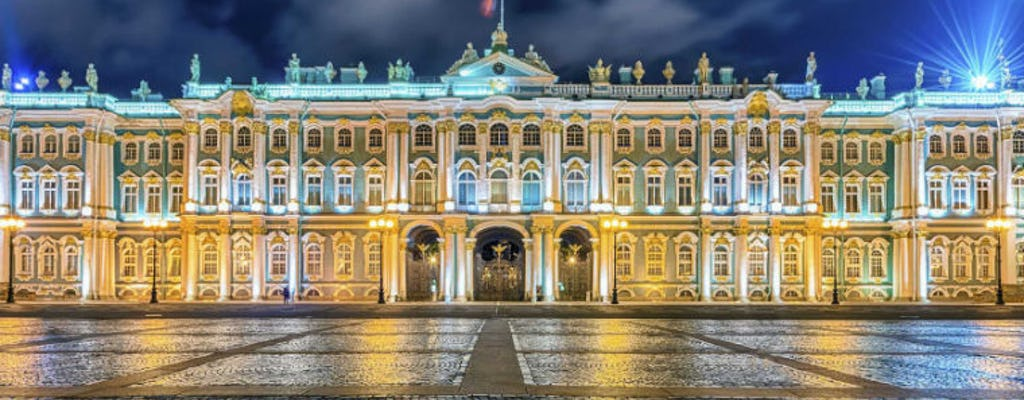 Excursão privada ao museu Hermitage com embarque em São Petersburgo