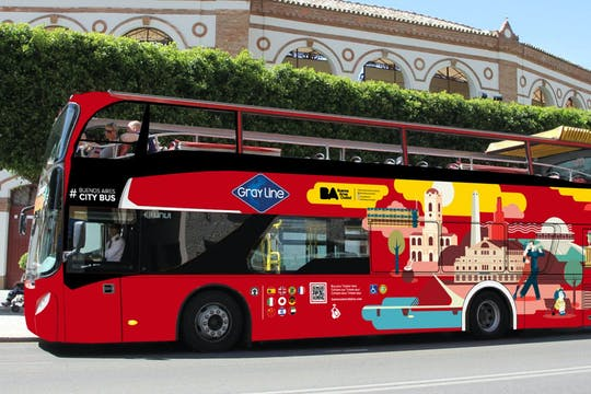 Tour in autobus hop-on hop-off di Buenos Aires