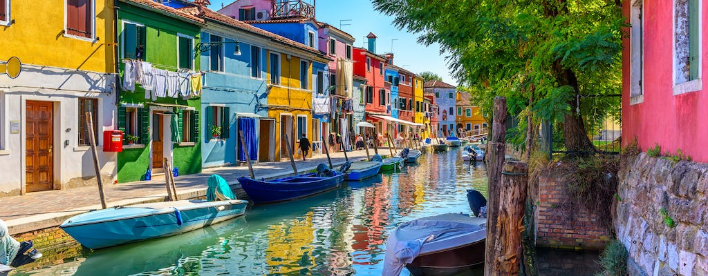 Afternoon tour of Murano, Burano and Torcello