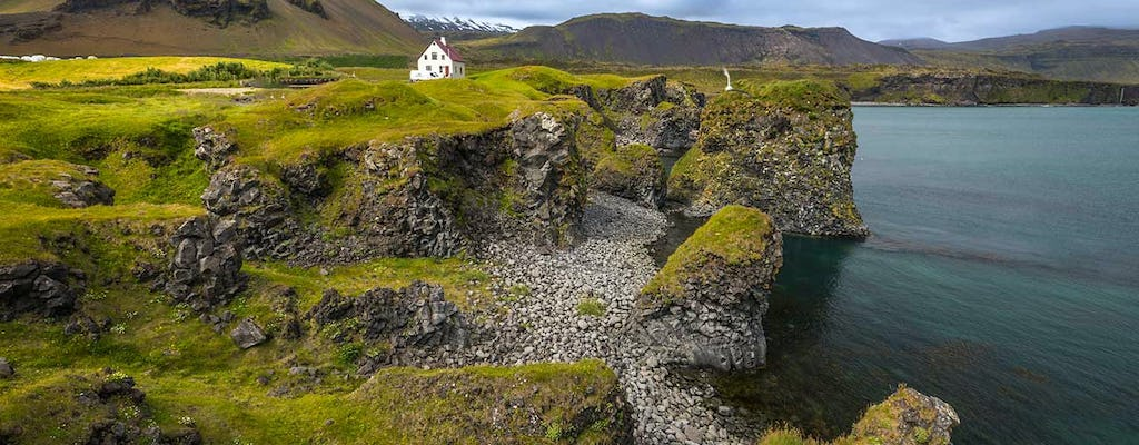 Experience the beautiful Snæfellsnes area in a private tour