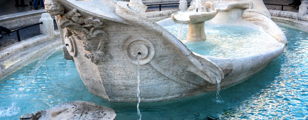 Walking tour of the fountains of Rome