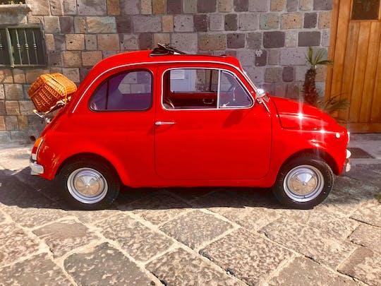 Tour fotografico di Sorrento Coast con la Fiat 500 vintage