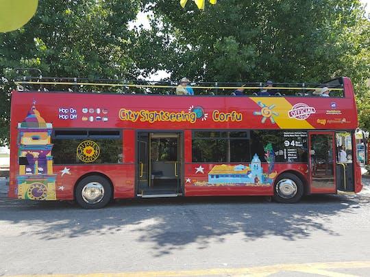 Tour in autobus hop-on hop-off di Corfù