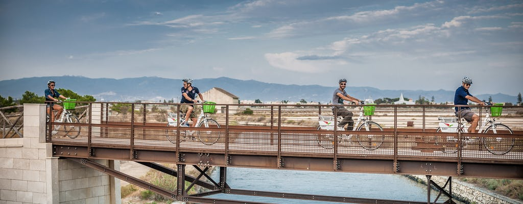 E-велосипед тур в парк Молентарджиус, пляж Поэтто и Сант'Элия Маяк