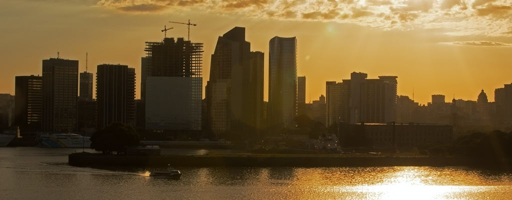 Buenos Aires sunset cruise with open bar