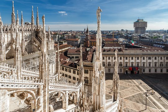 Duomo terraces admission tickets