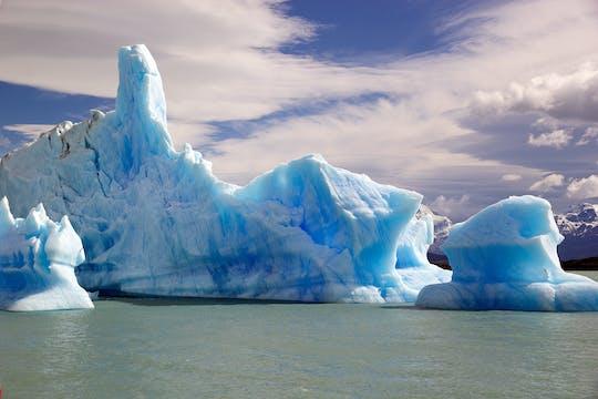 Navegue pelas geleiras Upsala e Speggazini