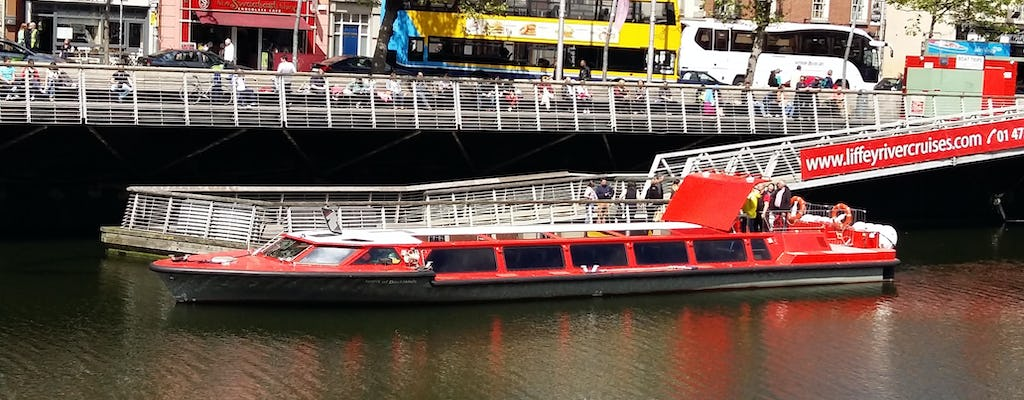 45 minute sightseeing cruise on the River Liffey