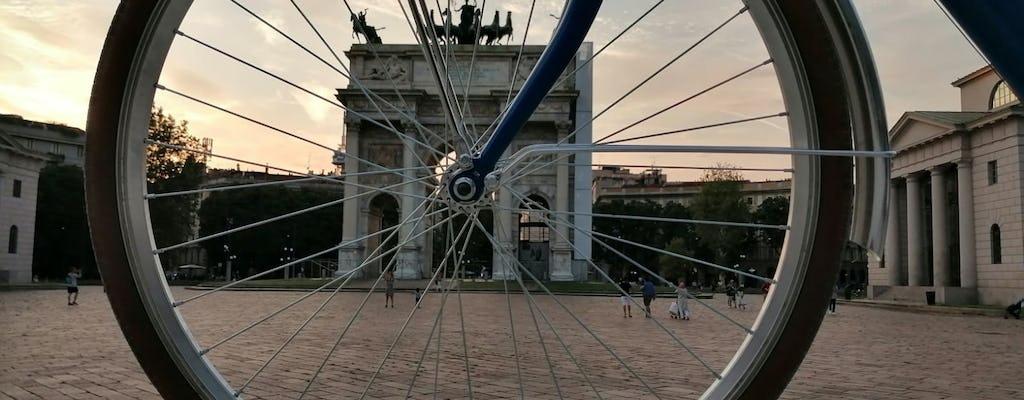 Tour in bici di Milano storico e moderno