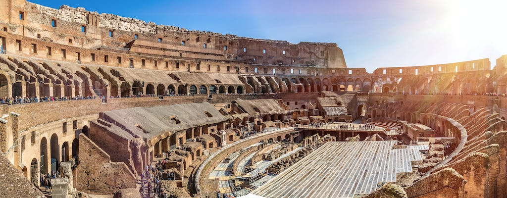 Colosseum, Roman Forum and Palatine Hill tour
