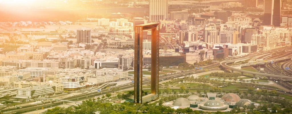 Dubai half-day city tour with Dubai Frame tickets