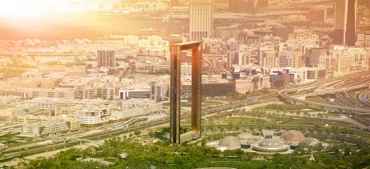 Dubai half-day city tour with Dubai Frame tickets
