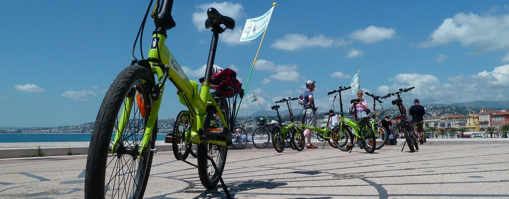 Fahrradtour durch Nizza