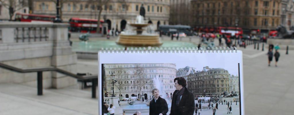 BBC Sherlock London locais tour de táxi preto