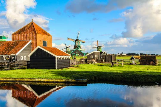 Tour to Zaanse Schans, Edam, Volendam, and Marken