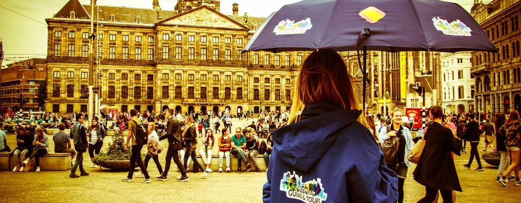 Recorrido a pie por Ámsterdam con crucero por los canales