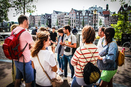 Amsterdam walking tour with cheese tasting