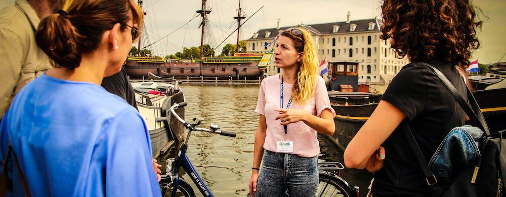 Visite à vélo d'Amsterdam de deux heures et demie
