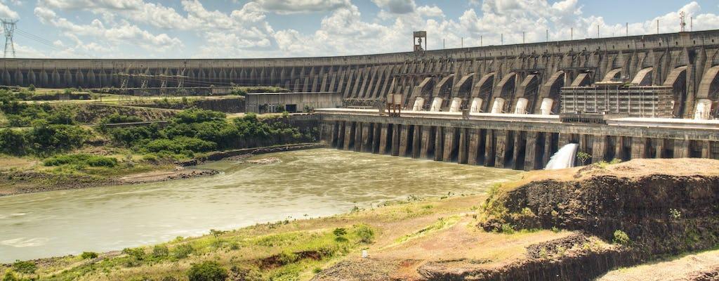 Recorrido panorámico por la represa hidroeléctrica de Itaipú