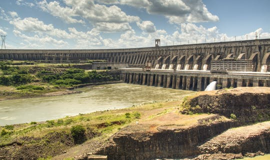 Itaipu hydroelectric dam panoramic tour