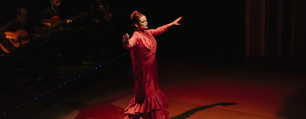 Шоу фламенко в Palacio фламенко с напитком или ужин