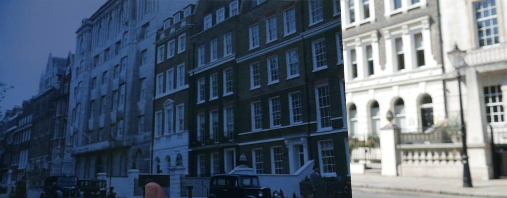 Poirot tour de Londres de táxi preto