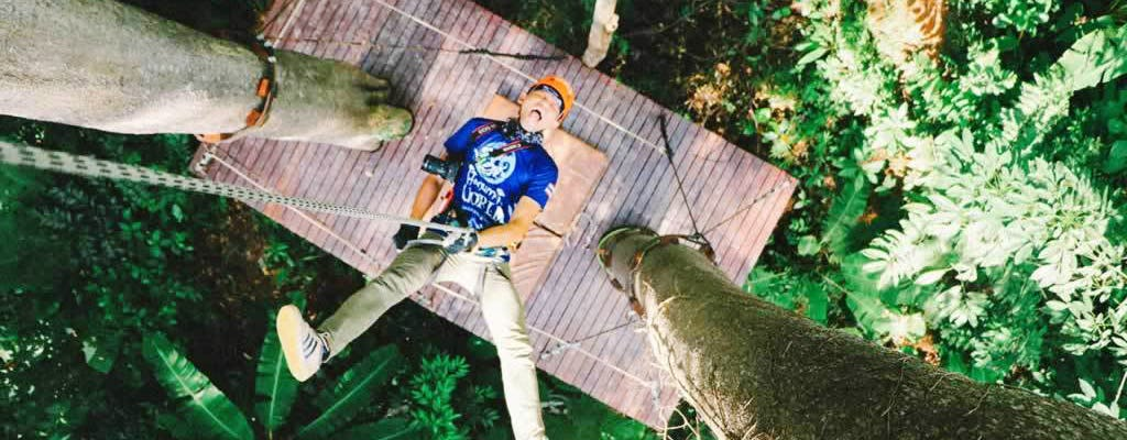 Zipline Adventure Phuket - 30 Platforms