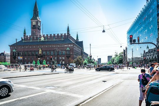 Admire the amazing architecture of Copenhagen in a private bicycle tour