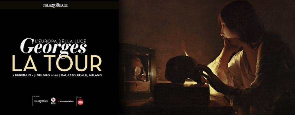 """Biglietti per la mostra """"Georges de la Tour. L'Europa della Luce"""" a Palazzo Reale"""