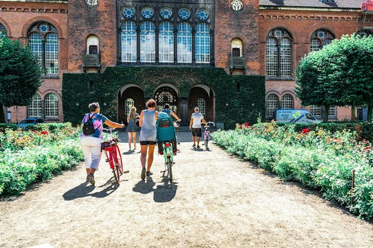 Discover royal Copenhagen in a private bike tour