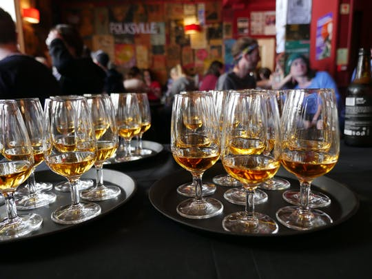 Whisky en folklore in Edinburgh