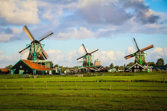 Dutch countryside with Amsterdam canal cruise combo tour