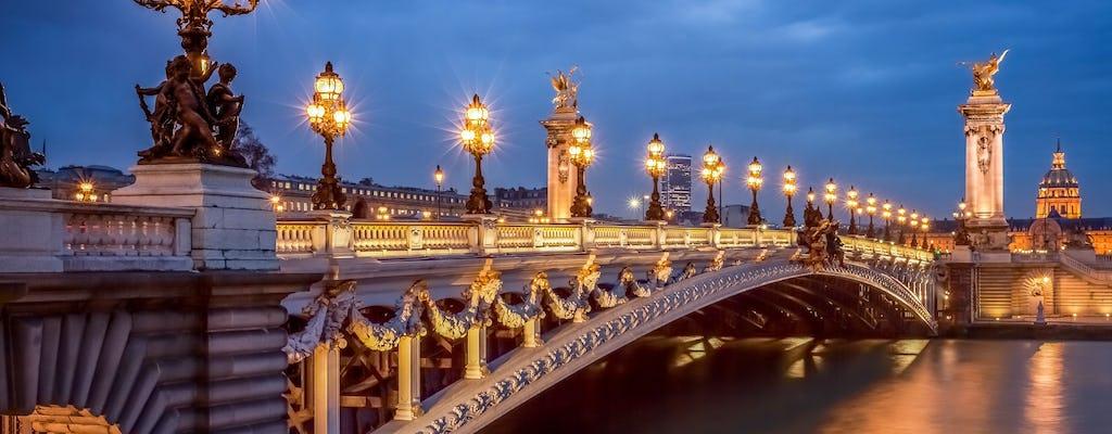 La Bonne Franquette Dinner with Illumination Tour in Paris