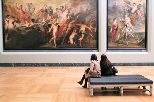 Louvre Museum fast-track tickets and audio guide