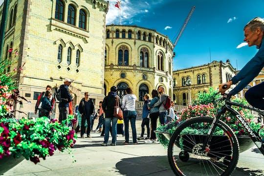 De geweldige stadswandeling door Oslo