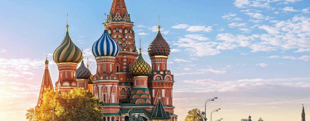 Tour privado a la Catedral de San Basilio y la Plaza Roja en Moscú