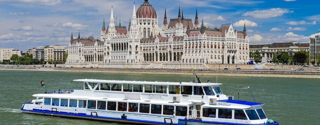 Crociera sul Danubio di 2 ore con esperienza Pálinka