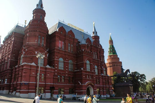 Moscow Red Square and city center walking tour with Kremlin ticket