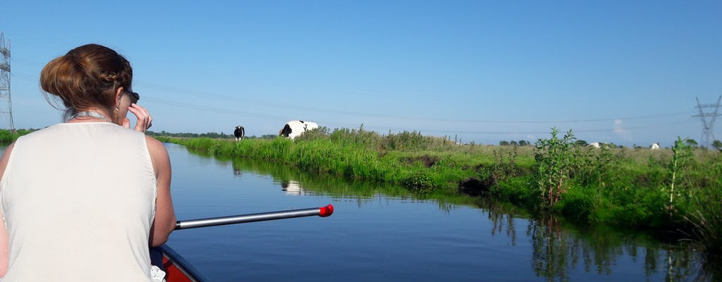 Tour guiado en canoa por los humedales de Ámsterdam