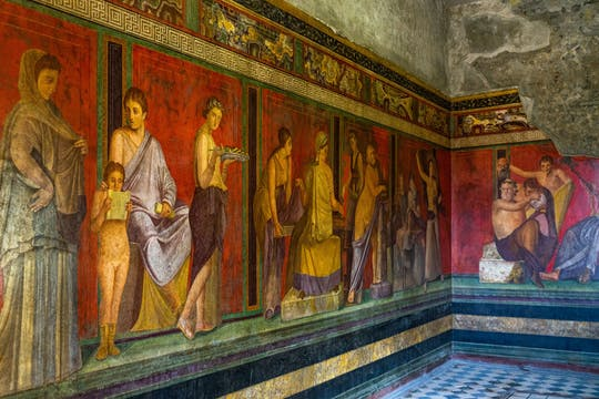 Całodniowa prywatna wycieczka do Pompejów, Sorrento i na Wezuwiusz z Neapolu