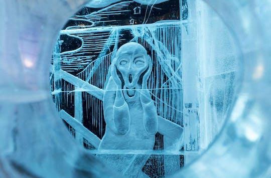 Посетить ледяной бар во время собственной прогулки по городу