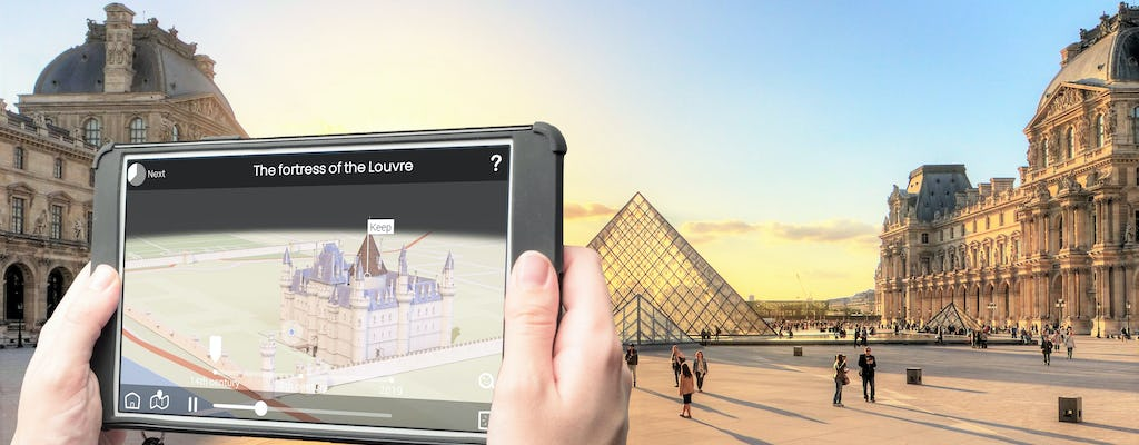 Interactive bus tour of Paris and Louvre Museum ticket