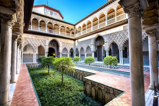 Guided tour of the Royal Alcazar of Seville